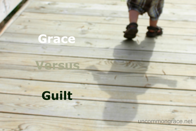 UG Guilt Versus Grace