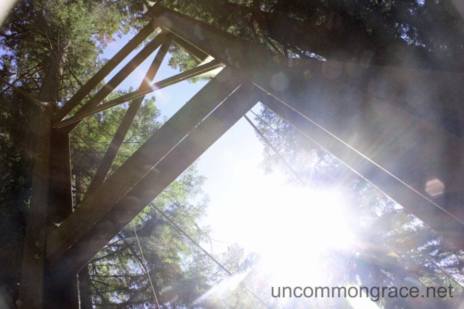 UG Bridge and Sun